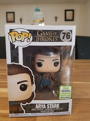 Funko Pop! Game of Thrones Arya Stark Assassin #76 ECCC 2019 Shared Exclusive