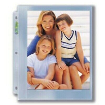 (1000) ULTRA PRO 1 POCKET 8X10 ALBUM BINDER PAGES for 8 X 10 PHOTOS or PRINTS