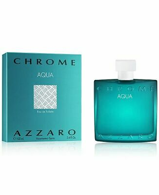 Azzaro - Chrome Aqua Eau de Toilette 100ml Spray - New Launch
