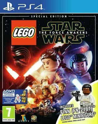 LEGO Star Wars: The Force Awakens - SPECIAL EDITION + FIGURE (PS4 GAME) *VGC*
