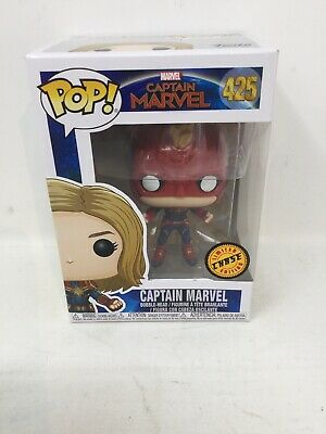 Funko Pop! Captain Marvel #425 Chase Limited Edition Masked