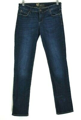 Kut From The Kloth Womens Size 4 Casual Wear Skinny Leg Denim Pants Blue Jeans