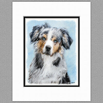 Australian Shepherd embroidered essential tote bag 18 COLORS