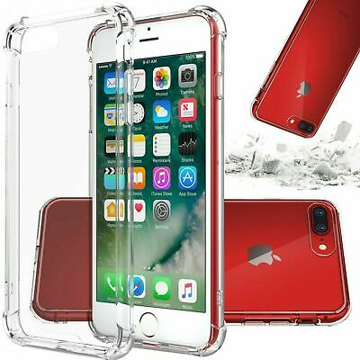 For iPhone 7 8 Plus X XS MAX XR 11 Pro SE Case Shockproof Silicone Bumper Cover