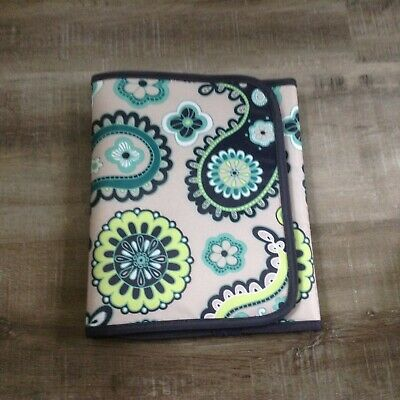 Thirty-One Fold It Up Organizer for Tablet, with Notepad, Paisley Day Pattern
