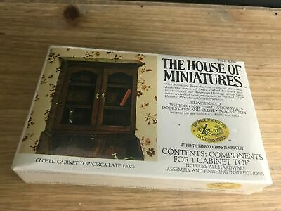X-Acto House Of Miniatures #40001 CLOSED CABINET Top CIRCA LATE 1700s Sealed NEW