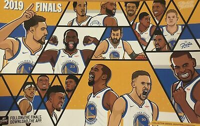 Golden State Warriors 2019 Nba Finals Playoffs Cheer Card