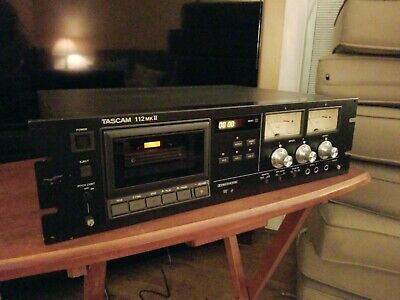 Tascam 112 MKII Professional Cassette Tape Recorder Player - Functions Well!