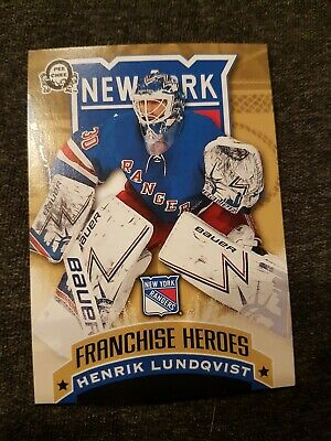 2018-2019 Canadian Tire Coast to Coast Franchise Heroes Lundqvist/Messier