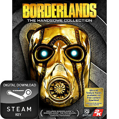 Borderlands The Handsome Collection Pc, Mac And Linux Steam Key