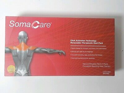 Soma Click Activation Technology Neck & Shoulder Renewable Therapeutic Heat Pack