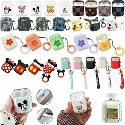 Silicone Earphone Case Skins For AirPods Apple Headphones Protective  Cover IW