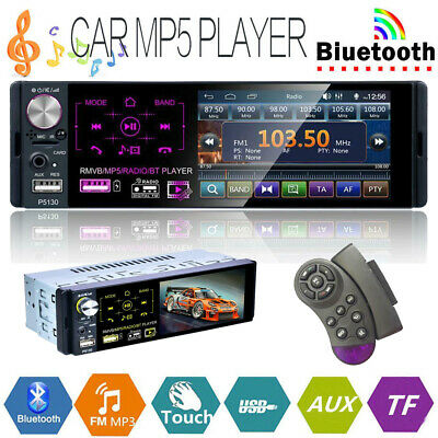 4 1 inch 1 din touch screen car stereo mp5 player rds am fm radio bt4 1 inch 1 din touch screen car stereo mp5 player rds am fm radio bt usb