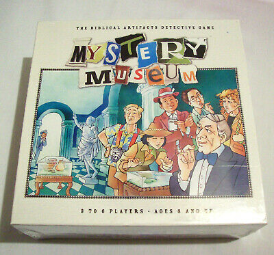 Mystery Museum, The Biblical Artifacts Detective Game (NIB)