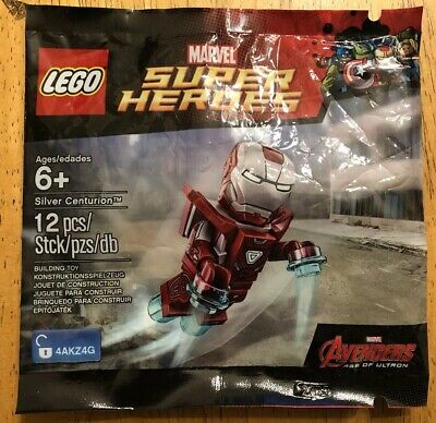 Set 3amp; Centurion Rare 30168 Iron Patriot Man Lego Silver PiuZkOXT