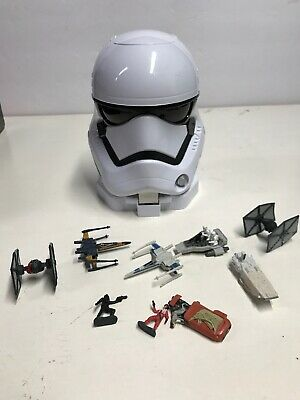 Star Wars The Force Awakens Micro Machines First Order Stormtrooper Playset H