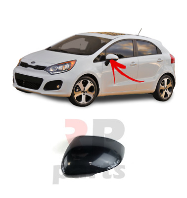 FOR KIA RIO 11-16 WING MIRROR COVER CAP PRIMED WITHOUT SPACE FOR INDICATOR LEFT