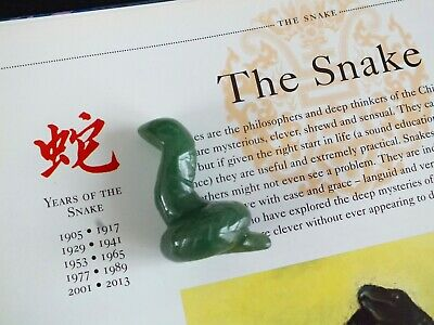 CHINESE JADE HORSE Handheld Ornament Animal Zodiac Sign Birthday