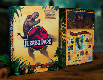 Coffret officiel bienvenue à Jurassic Park Legacy kit 25th anniversary