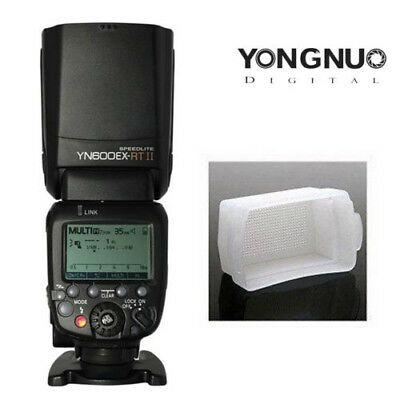 Yongnuo YN600EX-RT II Wireless HSS Master Flash Speedlite for Canon 600EX-RT