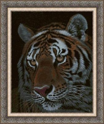 KIT DE PUNTO DE CRUZ PANDA, CROSS STITCH KIT Animales 0132