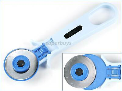 45mm Roller Cutter Slicer Wheel Cut Blade for Patchwork Fabric Leather Cloth
