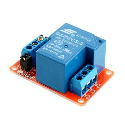 1x 5/12/24V 30A 1 Channel Relay Module Optocoupler H/L Level Triger For Arduino