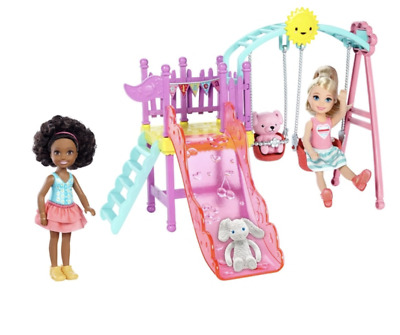 Barbie Chelsea Playset with Two Dolls Included - Kids Girls Toys Set - Toy Doll