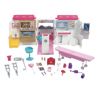 Barbie Care Clinic Playset with Accessories - Kids Girls Toys Set - Toy Doll New