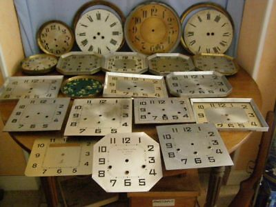 Lot of 20 pendulum dials