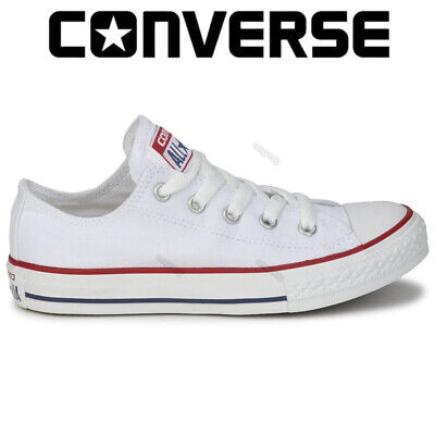 Converse Mens Womens Unisex All Star Lo Low Tops Chuck Taylor Trainers Shoes UK