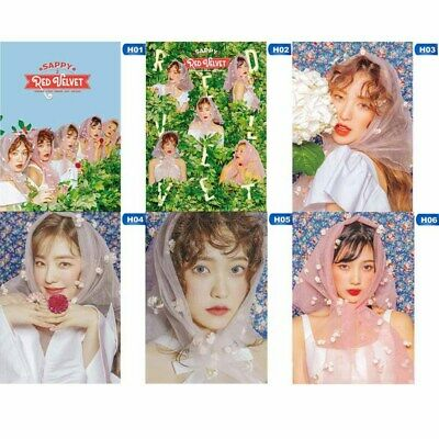 Red Velvet 2nd Mini Album《SAPPY》Poster Members Photo Poster Hanging Painting New