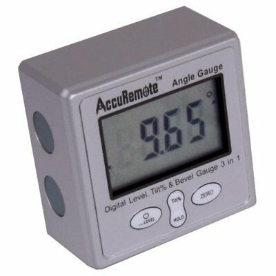 AccuRemote Digital Electronic Magnetic Angle Gage Level / Protractor / Bevel ...