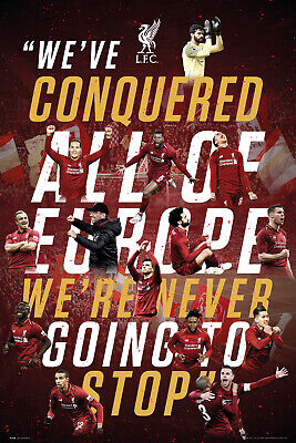 Liverpool Europe 18/19 Maxi Poster Print 61x91.5cm | 24x36 inches