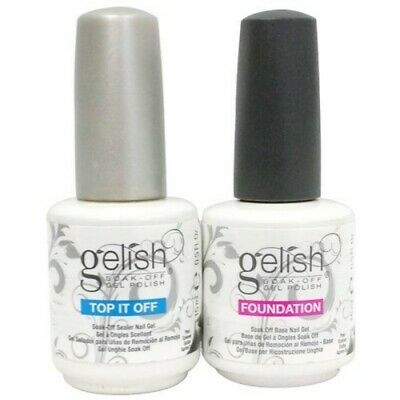 GELISH Harmony Soak Off Kit Duo  - Foundation Base Coat + Top It Off Structure