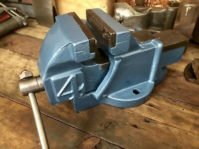 """Old 4"""" Vice - Refurbished. Strong And Ready For The Work Bench"""