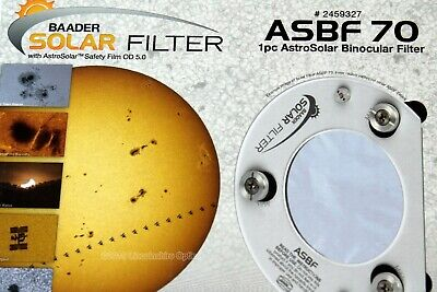 Baader ASBF 70 solar filter for visual and imaging . UK seller. UK stock. Boxed