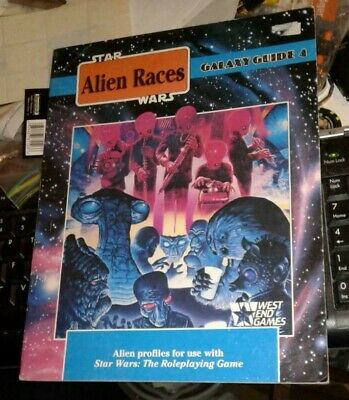 Star Wars Galaxy Guide 4 - alien races - West End Games- Hard to Find