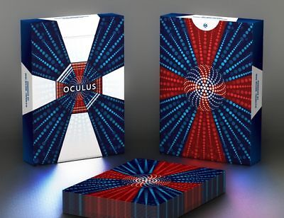 Oculus Playing Cards Optical Illusion Rare Limited  Cardistry Deck not Bicycle