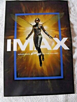 """Antman and Wasp  Original IMAX Movie Poster 13"""" x 19"""" Marvel Avengers"""