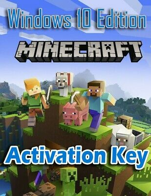 ✅KEY MINECRAFT Windows 10 Edition |License Key |Region free