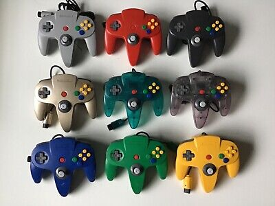Nintendo 64 Controller N64 Original Remote Authentic Tight Joystick Official Pad