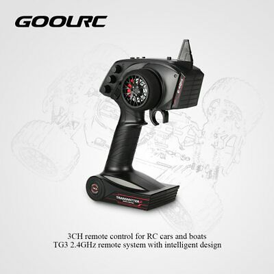 GoolRC Digital Radio Remote Control Transmitter with Receiver for RC Car Boat