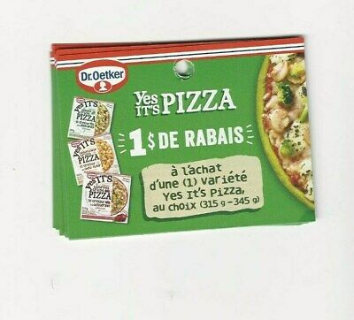 Coupons - 14 X Dr Oetker Yes Its Pizza