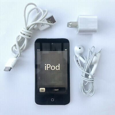 Apple iPod touch 4th Generation Black (16 GB) - Fully Functional / Bundled