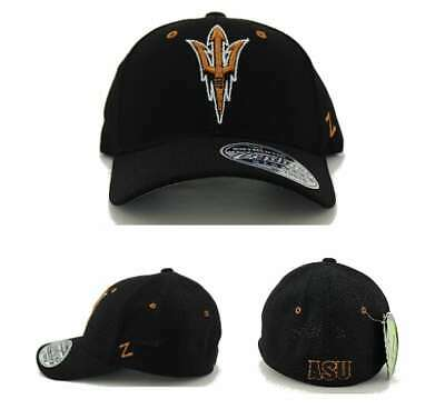 hot sale online cacbb 4bba4 Arizona State Sun Devils New Zephyr ZHats Youth Kids Black Copper Era Hat  Cap