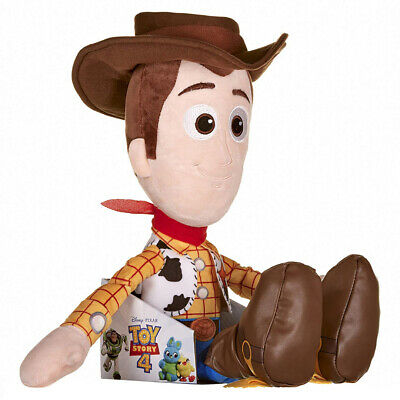 Disney Pixar Toy Story 4 - Grande 50cm Woody Morbido Bambola in Scatola Regalo