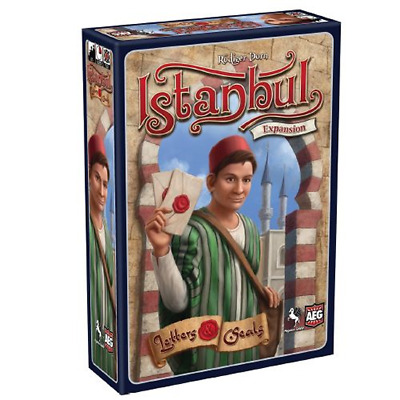 Istanbul: Letters and Seals Expansion $29.99 Value [AEG05887] Alderac