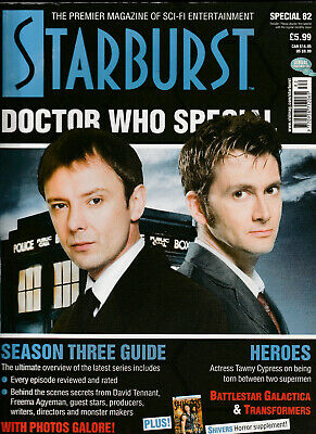 STARBURST SPECIAL Magazine Issue 82 - Doctor Who Special (2007)