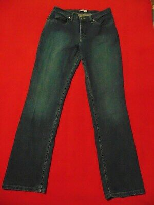 111d93f6 RIDER's by LEE Classic Fit - Women's Straight Leg Denim Blue Jeans - SIZE  ...